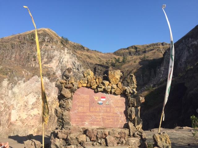 Mount Batur 1717m
